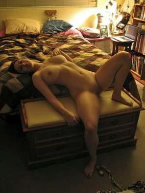 amateur photo Bed