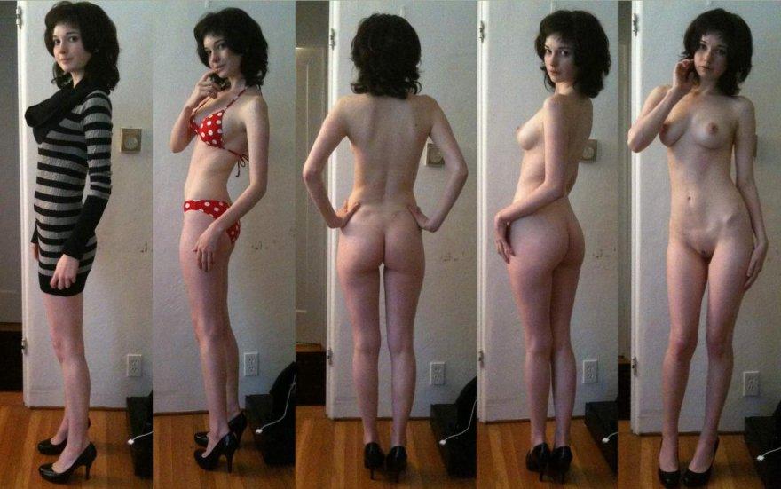 Polka Dots and High Heels Porn Photo