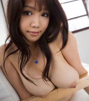 amateur photo She has an ample bosom
