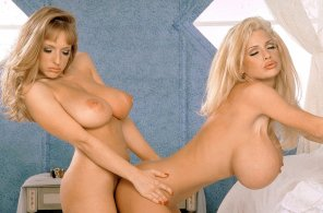 amateur photo Classic Danni Ashe and SaRenna Lee