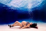 Underwater Pregnant