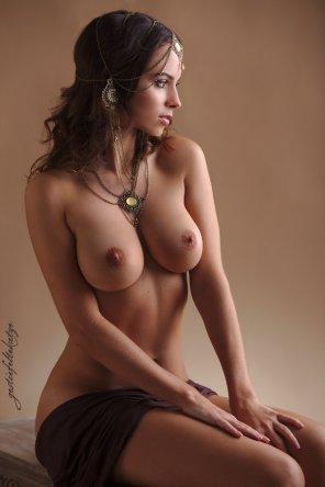 amateur photo Brunette beauty