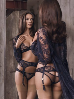 amateur photo Lacey Blue Lingerie