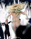 amateur photo Lady Gaga at the 2013 MTV Video Music Awards