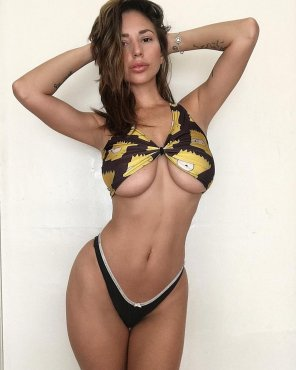 amateur photo Shay Laren and Bart Simpson