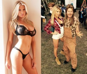 amateur photo Charlotte McKinney in Joe Dirt 2