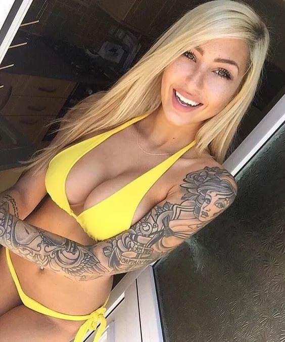 Opinion yellow bikini girl pity, that