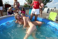 Fun in the swimming pool