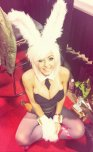 amateur photo Bunny costume