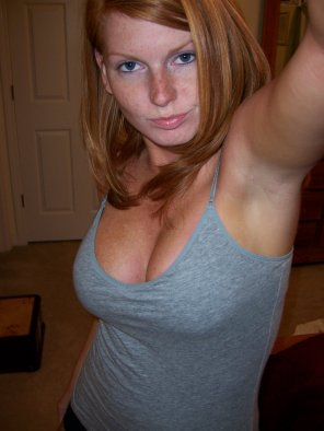 amateur photo Nice boobage