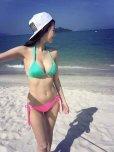 amateur photo Asian girl in bikini