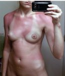 amateur photo Tan lines!!