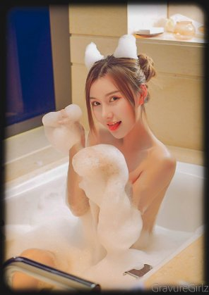 amateur photo M梦baby #052 | Bubble Bath | RUISG瑞丝馆
