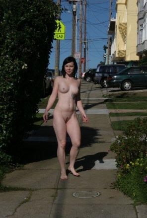 amateur photo Strolling through SF
