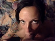 my cock in tattooed girl's mouth