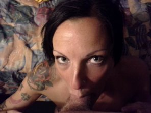 amateur photo my cock in tattooed girl's mouth