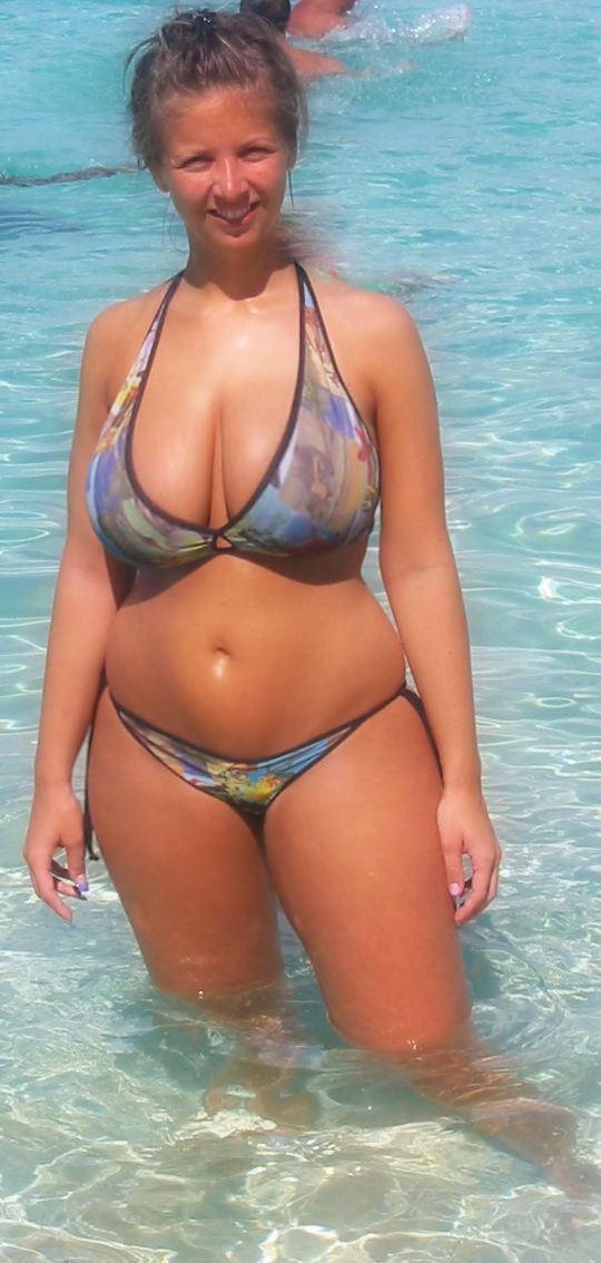 Beautiful Mom At The Beach Porn Photo