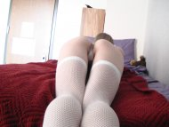 Me in my white [f]ishnet thigh-highs ;) more in comments!