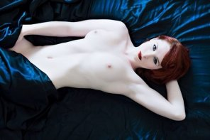 amateur photo Blue sheets