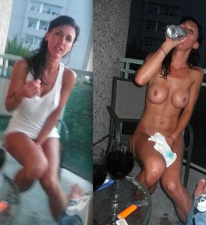 amateur photo Add Beer, Remove Clothes