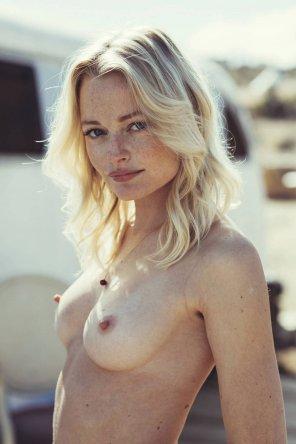amateur photo Delicate blonde