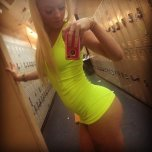 amateur photo mini dress