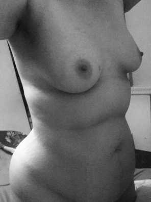 amateur photo Three and a half years off being 40. Thank you boobs, for resisting the ageing process