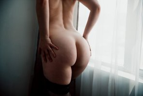amateur photo Had a friend take some pics of me yesterday. She said I had a really nice ass. Hope you guys think so too ;)