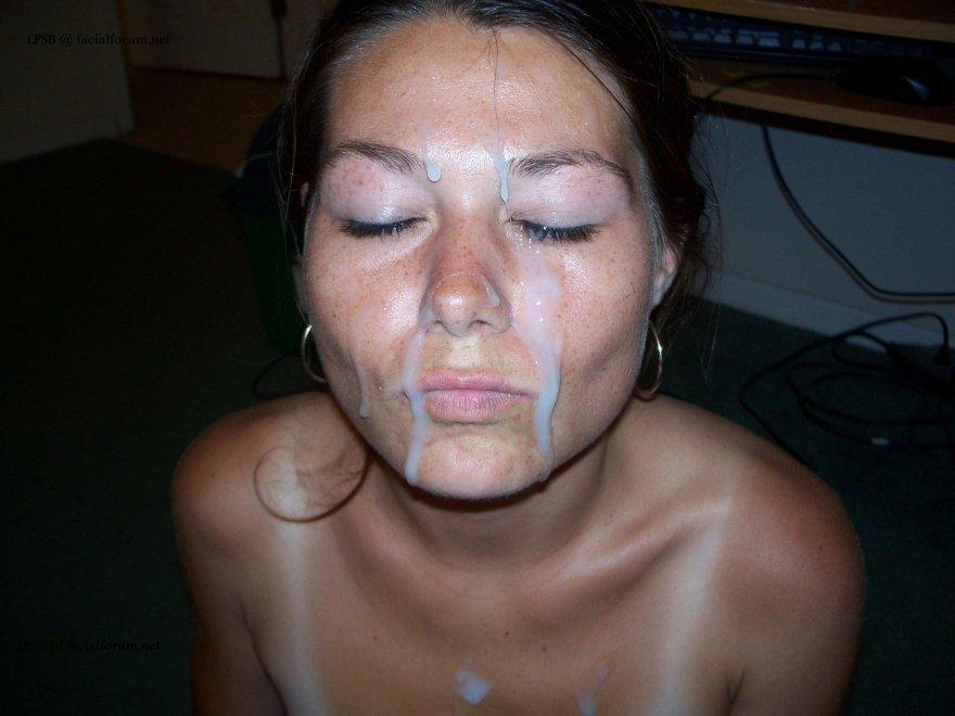 Freckled Amateur Porn Photo