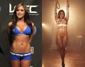 amateur photo Tight body on UFC girl