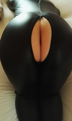 amateur photo Catsuit