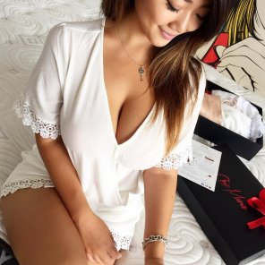 amateur photo Little White Dress
