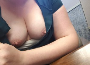 amateur photo Seems like being naughty at my desk is becoming a daily habit [f]