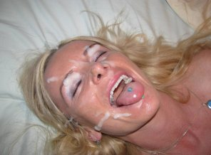 amateur photo she is so happy to take the load