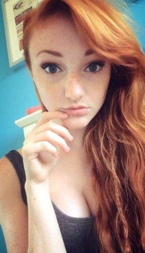 amateur photo I love freckles !