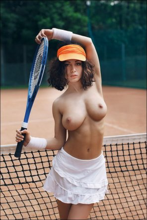 amateur photo Another horny tennis player