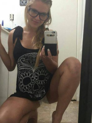 amateur photo Cute girl selfie