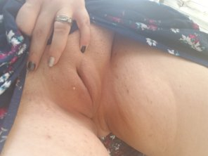 amateur photo Starting to love my pussy
