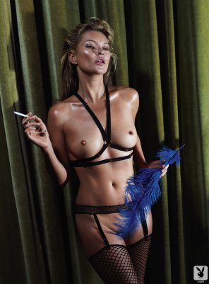 amateur photo Kate Moss December 2013 Playboy