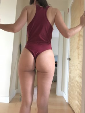 amateur photo One piece bathing suit