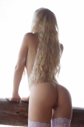 amateur photo Long Blonde Hair