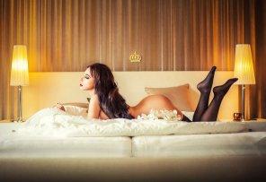 amateur photo Queen bed