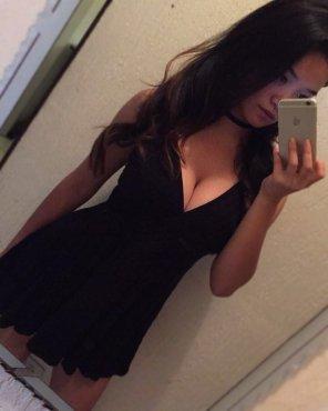 amateur photo PictureBlack Dress
