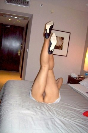 amateur photo Heels Up!