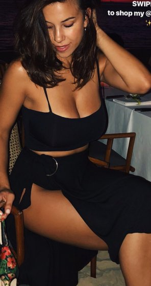 amateur photo Devin Brugman is Almost Bursting Out