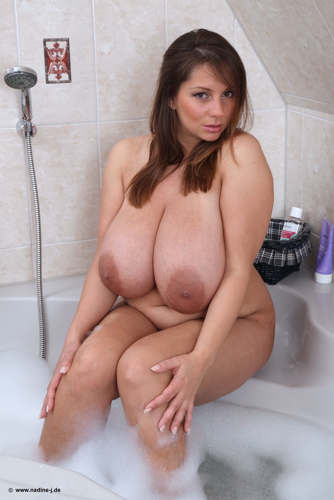Apologise, but Nadine jansen shower down! think