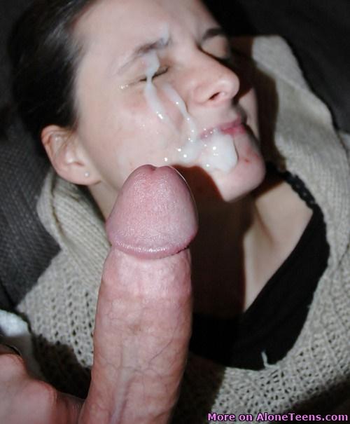 Amateur facial porn pics