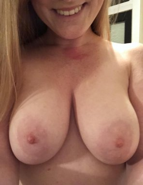 amateur photo Who likes ginger titty Tuesday? [f]