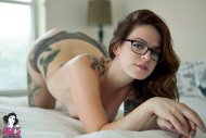 amateur photo Panties, glasses, and ink