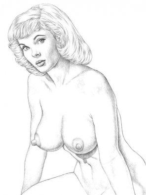 amateur photo Vintage drawing